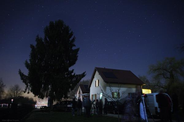 Observation astronomique du 18 mars 2016 - Petite Camargue Alsacienne
